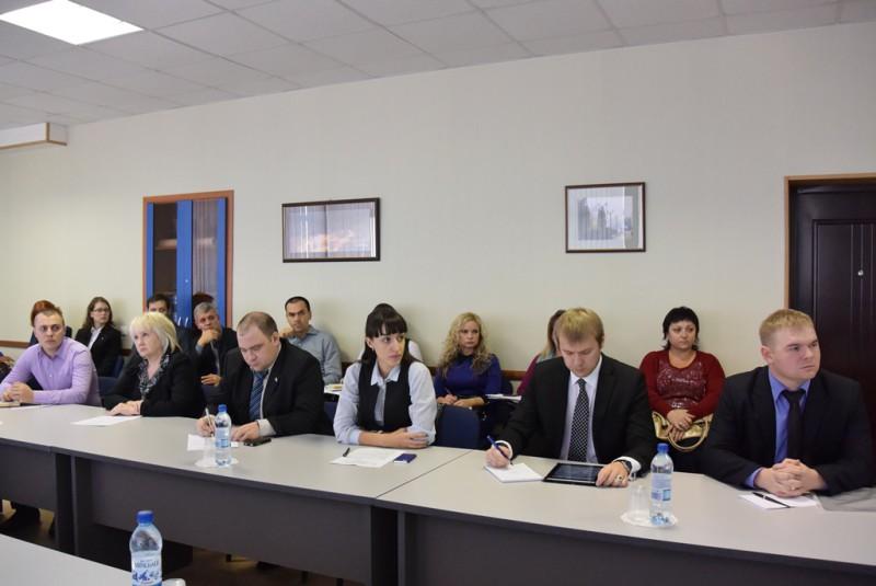 """Представидели НПЦ """"Агропищепром"""" с членами делегации Торгово-промышленной палаты Российской Федерации."""